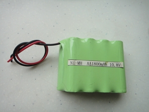 10.8V, 1800mAh, AA Ni-MH battery pack
